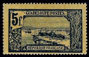 Guadeloupe Sc #82 Mint F-VF...French colonies are in demand!