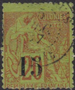 Senegal 1887 SC 23 / Maury 5 VII Used