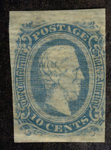 US #CONFED US #11 VF mint never hinged, super select,  four nice margins,  no...