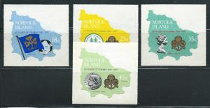 Norfolk Island 225-8 1978 50th Girl Guides set MNH