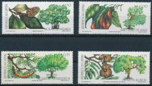 [I1097] Argentina 1993 Trees good set of stamps very fine MNH