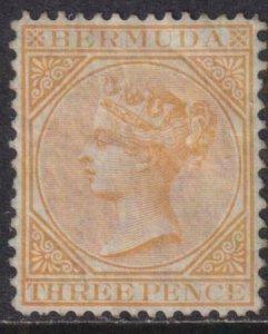 Bermuda 1882-1893 SC 7 Mint