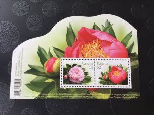 Canada Mint NH #2260 Peonies - Flower