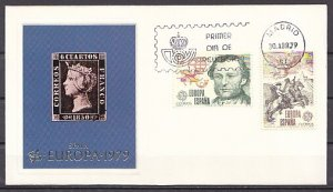 Spain, Scott cat. 2147-2148. Europa-Postilion issue. First day cover. ^