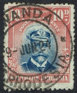 SOUTHERN RHODESIA 1924 KGV ADMIRAL 10D USED