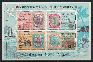 St. Kitts-Nevis #273a* NH  CV $2.75 Souvenir Sheet