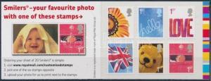 Great Britain stamp Greeting stamps stampbooklet WS196196