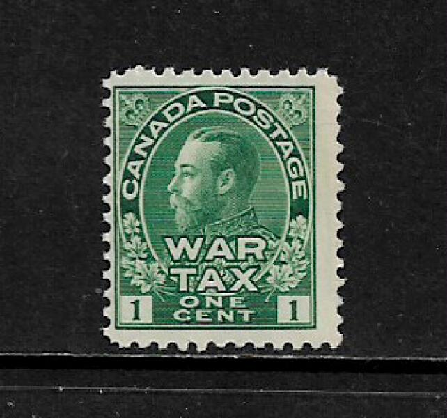 Canada #MR1 MNH Stamp - War Tax (d) Creased