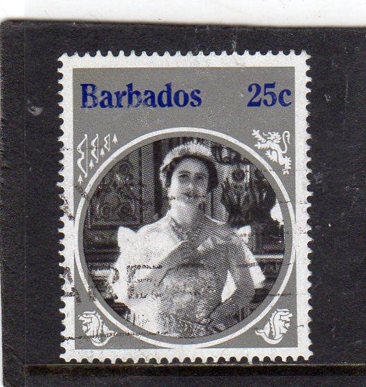 Barbados Queen Mother used