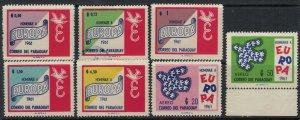 Paraguay #623-9*  CV $48.20