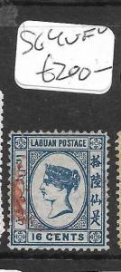 LABUAN (P0204B)  QV CAMEO 16C   SG 4   VFU