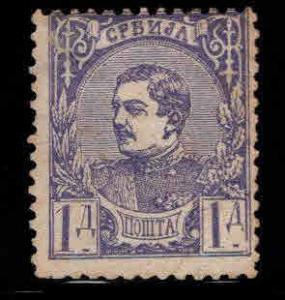 Serbia  Scott 32 Mint NO Gum stamp CV $13.50