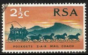 South Africa 1969 Scott# 357 Used