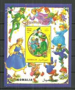Somalia MNH S/S Peter Pan & Snow White Christmas 2002