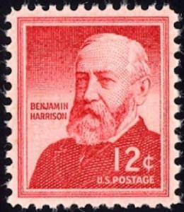 1045 Benjamin Harrison US Single Mint/nh (Free shipping offer)