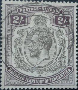 Tanganyika 1927 Two Shillings SG 103 used