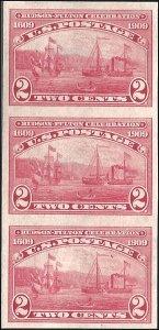 373 Mint,OG,NH... Strip of 3... SCV $127.50