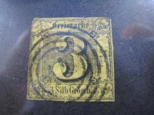 GERMANY-THURN & TAXIS , NORTHERN DISTRICT - SCOTT # 7a -  Used