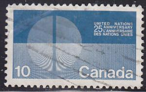 Canada 513 Hinged Used 1970 Energy Unification