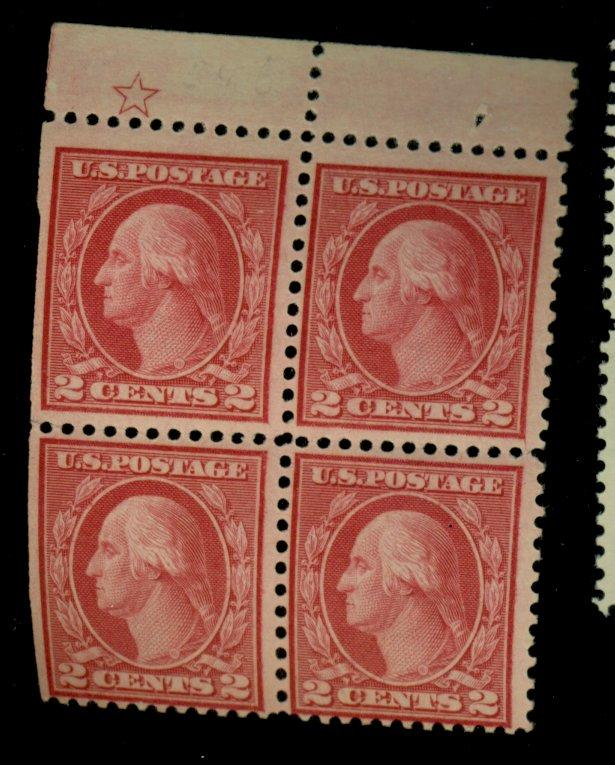 546 MINT Star Block F-VF OG NH Cat$920