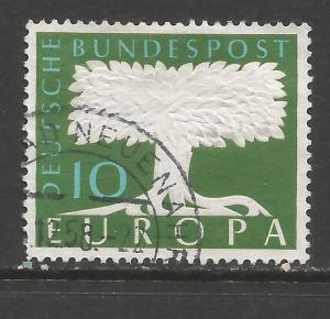 GERMANY 771 VFU EUROPA Z7183-3
