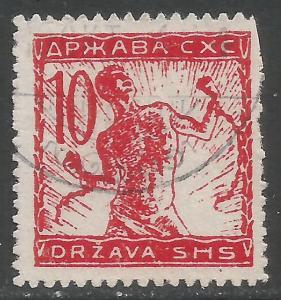 YUGOSLAVIA 3L3 VFU A1432-2