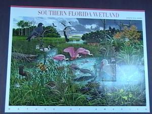 U.S.# 4099-MINT/NEVER HINGED-- PANE OF 10--SOUTH FLORIDA WETLAND--2006