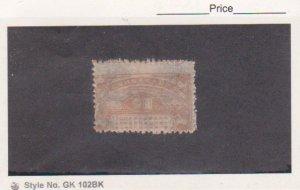 Korea 1945-46 DPK 1 Yen Brown Pyongyang Special City Revenue Very Scarce MNHNGAI