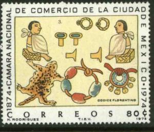MEXICO 1085, 80¢ Centenary of the National Chamber of Commerce. MINT, NH. F-VF.