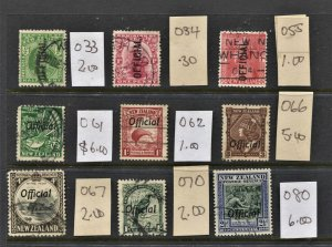 STAMP STATION PERTH New Zealand #9  Used Official Stamps - Unchecked