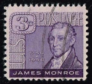 US #1105 James Monroe; Used (0.25)
