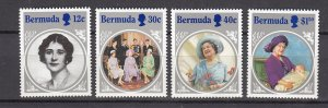 J26603 JLstamps 1985 bermuda set mnh #469-71 queen