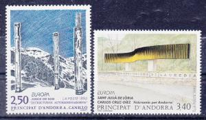 Andorra-French 425-26 MNH 1993 Europa