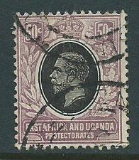 East Africa & Uganda SG 51 Used