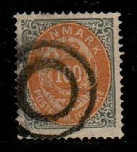 Denmark Scott 34 Used VF (Catalog Value $60.00)