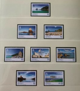 JE56) Jersey 2014 Seasons - Summer set of 8 MUH