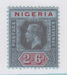 NIGERIA 9 MINT HINGED OG * NO FAULTS EXTRA FINE !