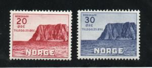 Norway - Sc# B9 & B10 MH  /  Lot 0219105