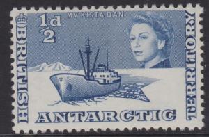 British Antarctic Territory Sc#1 MH