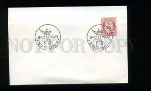 273641 NORWAY 1979 year special cancellation Statfjord COVER