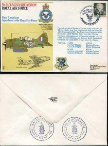 RAFSP3a No.71 (Eagle) Squadron RAF Standard Cover