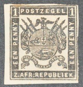 DYNAMITE Stamps: Transvaal Scott #19  – UNUSED