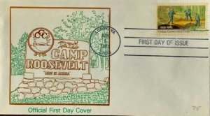 Camp Roosevelt First in America 2037 Civilian Conservation Corps Luray Official