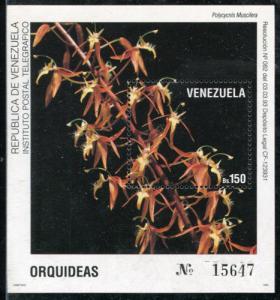 Venezuela 1509, MNH, Flowers Orchids. x1425