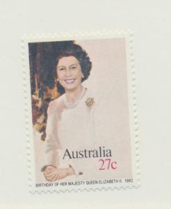 Australia Scott #825, Mint Never Hinged MNH, Queen Elizabeth II Birthday Issu...