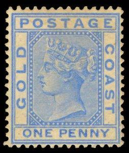 Gold Coast Scott 12 Gibbons 10 Mint Stamp