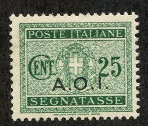 Italian East Africa, Scott #J4, Unused, Hinged