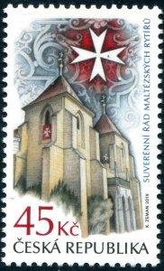 HERRICKSTAMP NEW ISSUES CZECH REPUBLIC Sc.# 3786 S.M.O.M.