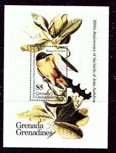 Grenada Grenadines 641 Birds S/S    (ap3299)