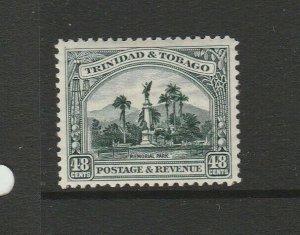 Trinidad & Tobago 1935/7 Defs P12, 48c MM SG 237